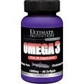 Ultimate Nutrition Omega-3 1000mg - 90 гелевых капсул