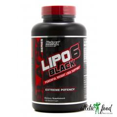 Nutrex Lipo 6 Black -120 капсул