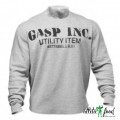 GASP Свитер Thermal Gym Sweater, Greymelange
