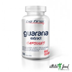 Be First Guarana Extract Capsules - 120 капсул