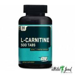 Optimum Nutrition L-carnitine 500 mg - 30 таблеток