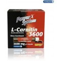Power System L-Carnitin Liquid 20х25мл - 3600мг