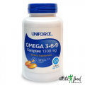 Uniforce Omega 3-6-9 complex 1200 мг  - 120 гел.капсул