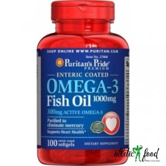 Puritan's Pride OMEGA-3 FISH OIL 1000 MG (100 softgels)