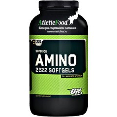 Optimum Nutrition Superior Amino 2222 Softgels - 300 гелевых капсул