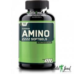 Optimum Nutrition Superior Amino 2222 Softgels  - 150 гелевых капсул