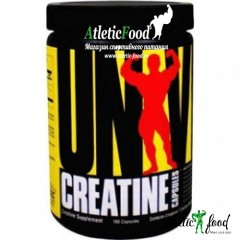 Universal Nutrition Creatine Capsules - 100 капсул