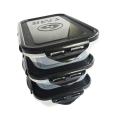6-pack Fitness контейнер с фиксаторами - 709 мл.