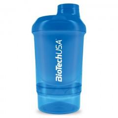 Шейкер BioTech Shaker Wave+ Nano - 300 мл + 150 мл (синий)