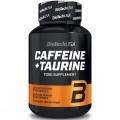 Таурин BioTech Caffeine & Taurine - 60 капсул