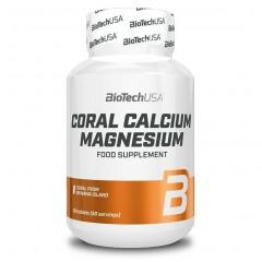 Кальций и магний BioTech Coral Calcium Magnesium - 100 таблеток