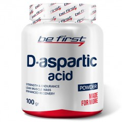 D-аспарагиновая кислота Be First DAA Powder (D-Aspartic Acid) - 100 грамм