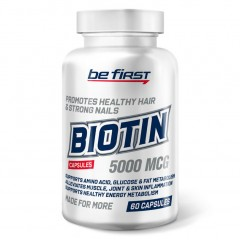 Биотин Be First Biotin 5000 mcg - 60 капсул