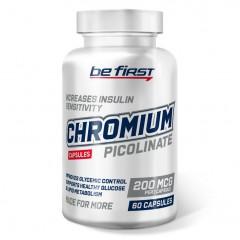 Пиколинат хрома Be First Chromium Picolinate 200 mcg - 60 капсул