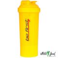Be First Спортивный слим-шейкер 350 мл 2-в-1 (желтый)