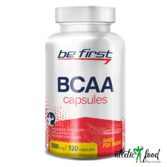 Be First BCAA Capsules - 120 капсул