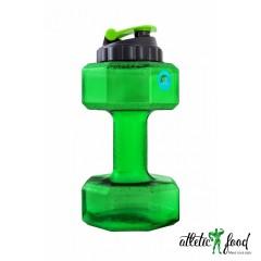 BeFirst бутылка-гантеля- 2200 мл, зеленая