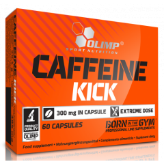Кофеин Olimp Caffeine Kick 300 mg - 60 капсул