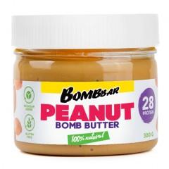 BomBBar протеиновая арахисовая паста - 300 грамм