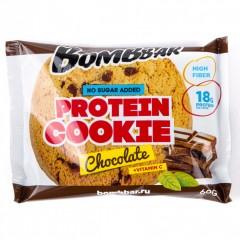Bombbar протеиновое неглазированное печенье - 60 грамм