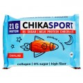 Chikalab ChikaSport Протеиновый шоколад молочный с миндалем - 100 грамм