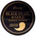 Esthetic House патчи для глаз гидрогель черный жемчуг/золото - 60 шт.