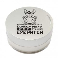 Elizavecca Патчи для глаз с ослиным молоком Donkey Piggy Milky EGF Cling Eye Patch - 60 шт.