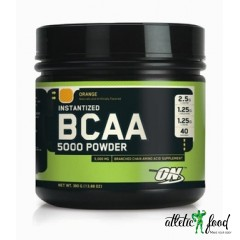 Optimum Nutrition BCAA 5000 Powder - 380 грамм (со вкусом)