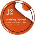 J:ON Альгинатная маска очищение и сужение пор Cleansing & Pore Care Modeling Pack - 18 мл