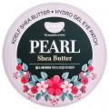 Koelf Патчи для глаз гидрогель жемчуг/масло ши Shea Butter Hydrogel Eye Patch - 60 шт.