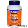 NOW Acetyl-L-Carnitine (750mg) - 90 капсул