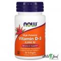 NOW Vitamin D-3 2000 IU - 30 капсул