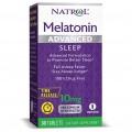 Natrol Melatonin Advanced Sleep Time Release 10 mg - 30 таблеток