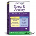 Natrol Stress & Anxiety Day & Night - 20 таблеток