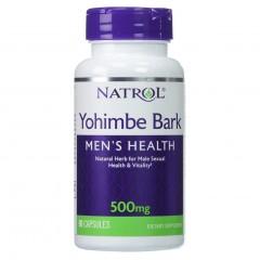 Повышение тестостерона Natrol Yohimbe 500 mg - 90 капсул