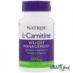 Natrol L-Carnitine 500 мг - 30 капсул
