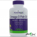 Natrol Omega-3 Flax Seed Oil- 120 капсул