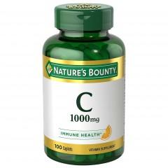 Nature's Bounty Vitamin C 1000 mg - 100 каплет