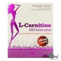 Olimp L-Carnitine 500 Forte Plus - 60 капсул