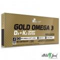 Olimp Gold Omega 3 D3+K2 Sport Edition - 60 капсул