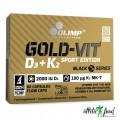 Olimp Gold-Vit D3+K2 2000 IU Sport Edition - 60 капсул
