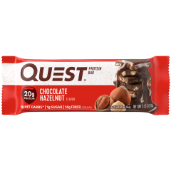 Протеиновый батончик Quest Bar Chocolate Hazelnut (шоколад с фундуком) - 60 грамм