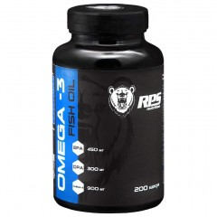 RPS Nutrition Fish Oil - 200 капсул