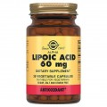 Solgar Alpha Lipoic Acid 60 mg - 30 капсул