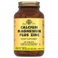 Solgar Calcium Magnesium plus Zinc - 100 таблеток