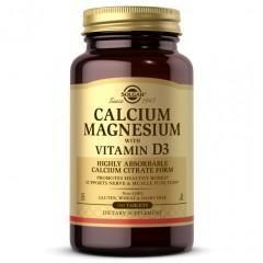 Solgar Calcium Magnesium with Vitamin D3 - 150 таблеток