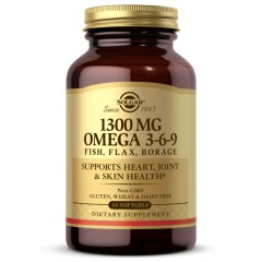 Solgar Omega 3-6-9 1300 mg - 60 капсул