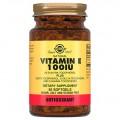 Solgar Vitamin E 100 IU - 50 капсул