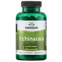 Эхинацея Swanson Echinacea 400 mg - 100 капсул