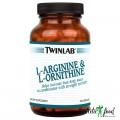 Twinlab L-Arginine & L-Ornithine - 100 капсул